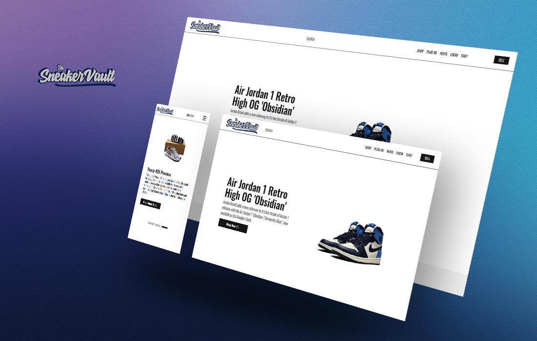 Da Sneaker Vault - cmsMinds Portfolio
