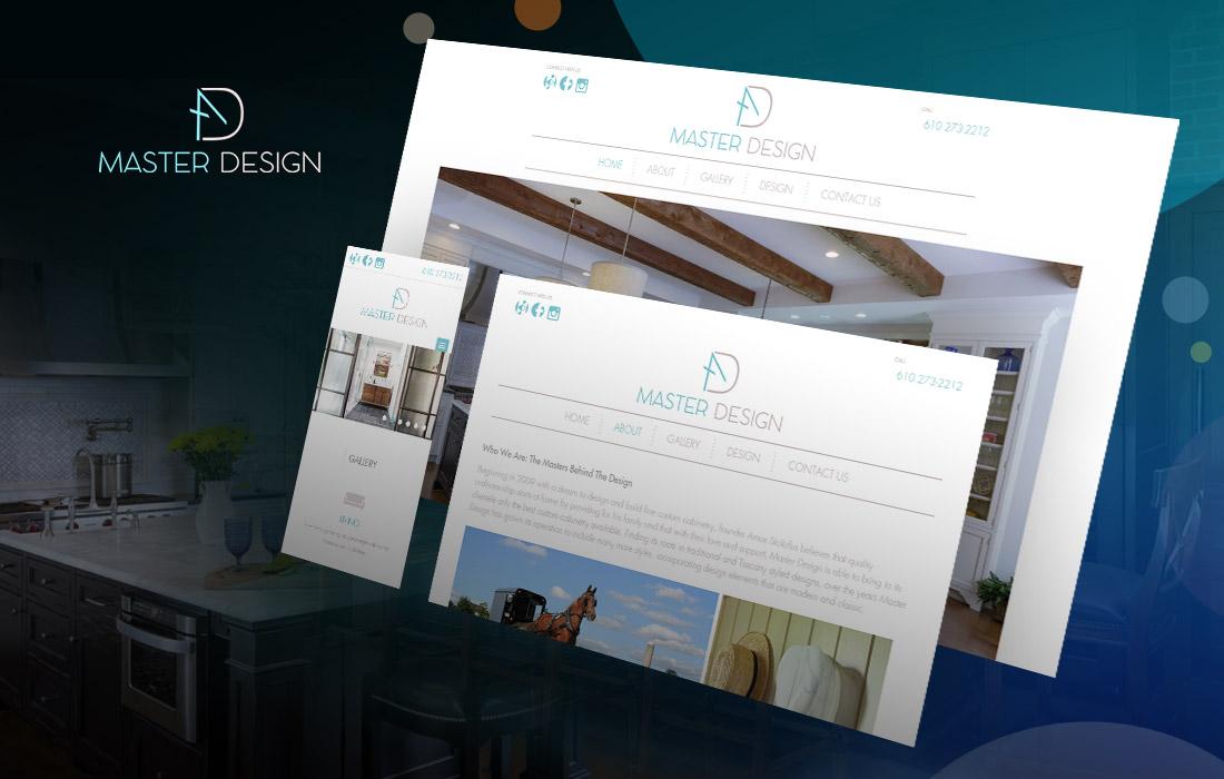 Master Design Cabinetry - cmsMinds Portfolio
