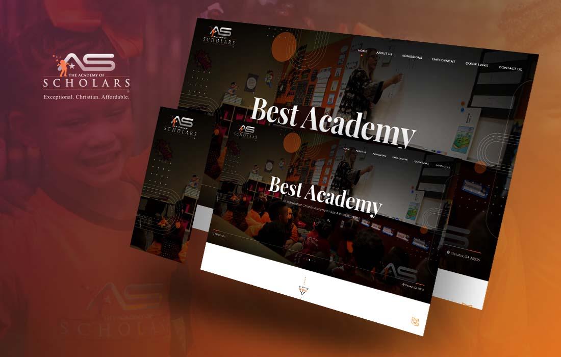 Academy Of Scholars- cmsMinds Portfolio