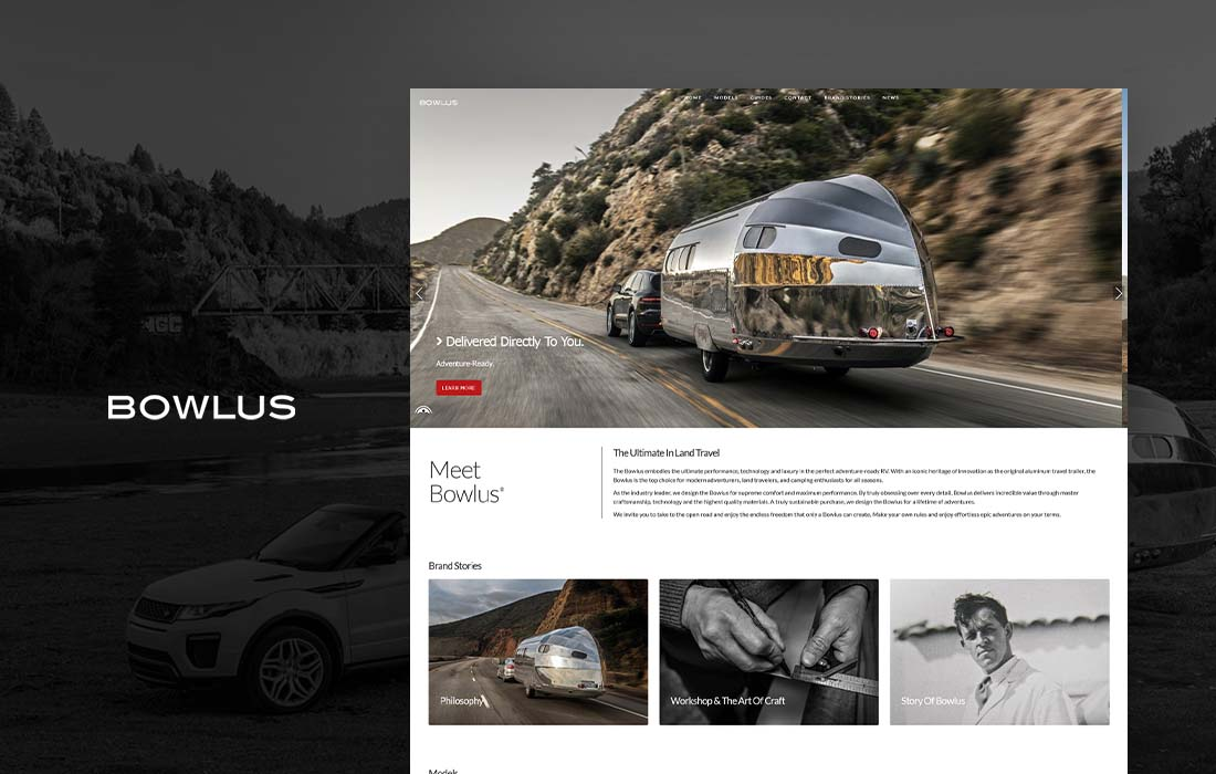 Bowlus - cmsMinds Portfolio