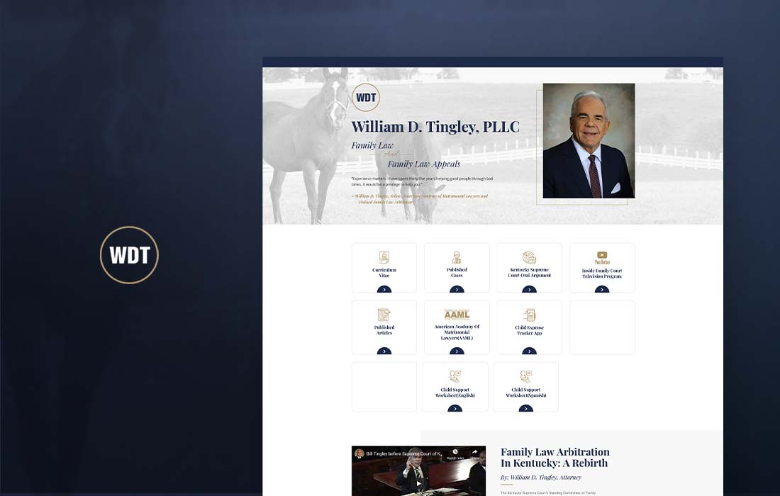 William D. Tingley - cmsMinds Portfolio