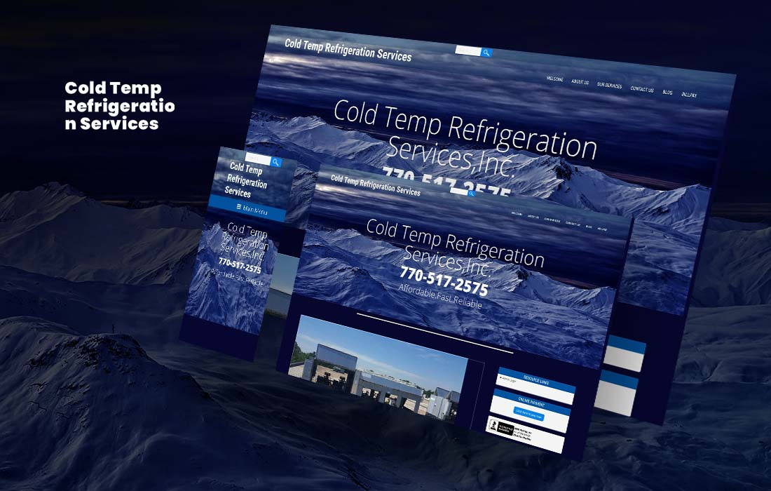 Cold Temp Services - cmsMinds Portfolio