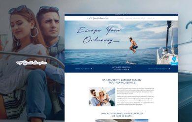 Yacht Hampton - cmsMinds Portfolio