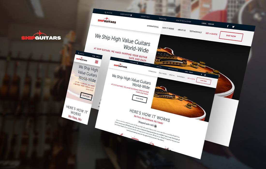Ship Guitar - cmsMinds Portfolio
