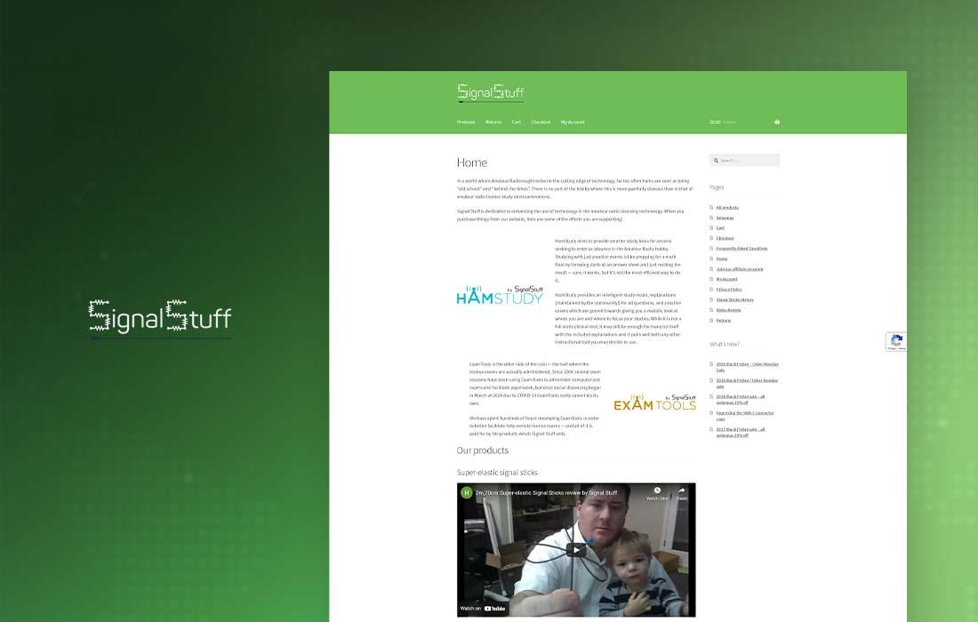 Signal Stuff - cmsMinds Portfolio