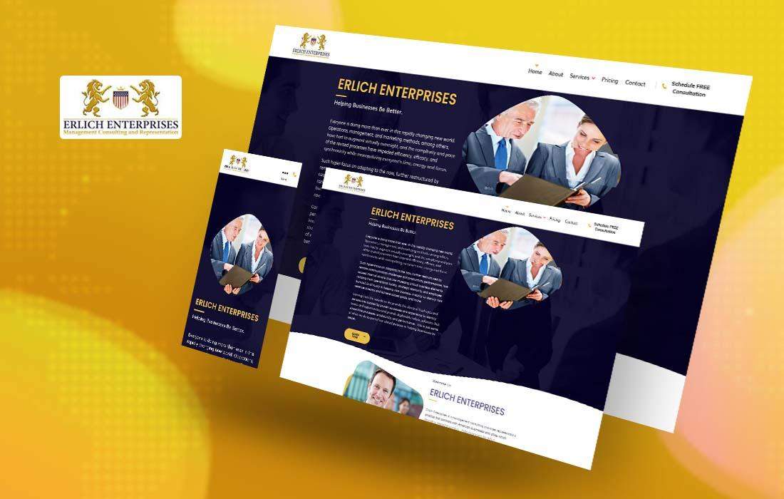 Erlich Enterprises - cmsMinds Portfolio