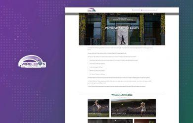Wimbledon Tickets - cmsMinds Portfolio